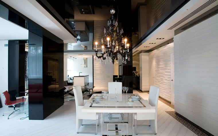 Квартира. столовая из проекта , фото №24264