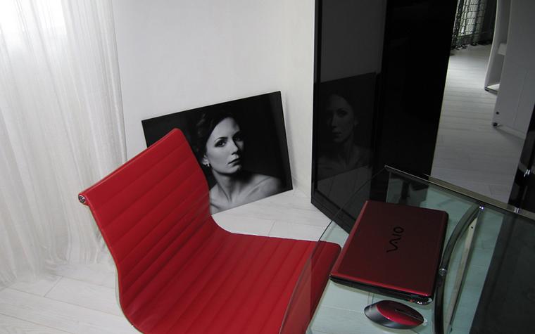 Квартира. кабинет из проекта , фото №24294