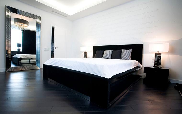 Квартира. спальня из проекта , фото №24268
