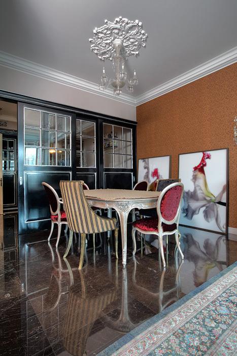 Фото № 24664 столовая  Квартира