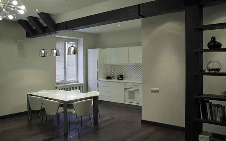 Квартира. кухня из проекта , фото №24308