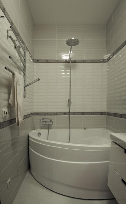 Квартира. ванная из проекта , фото №24321