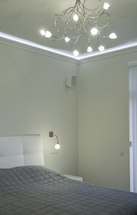 Квартира. спальня из проекта , фото №24325