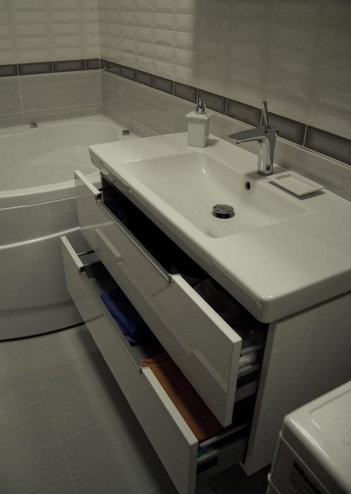 Квартира. ванная из проекта , фото №24323