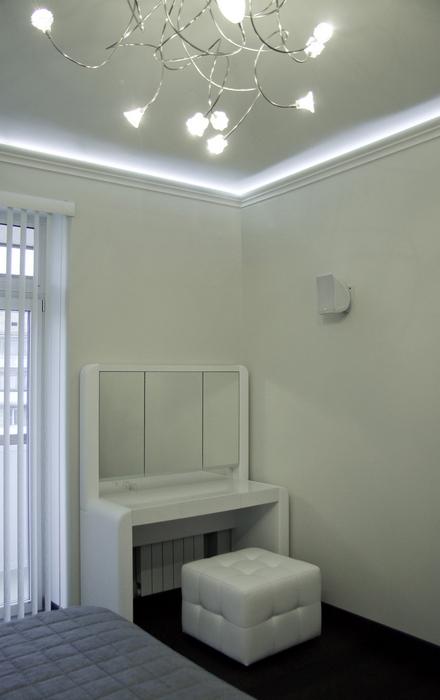 Квартира. спальня из проекта , фото №24327