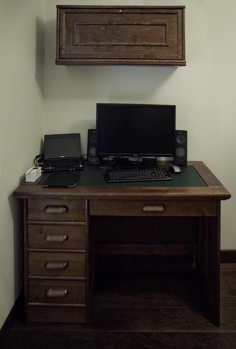 Квартира. кабинет из проекта , фото №24332