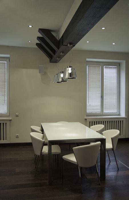 Квартира. столовая из проекта , фото №24336