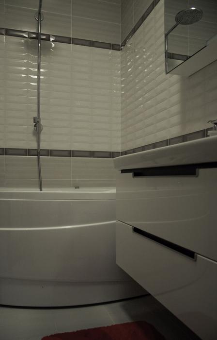 Квартира. ванная из проекта , фото №24324