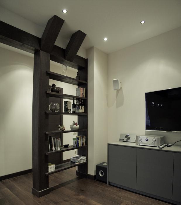 Квартира. гостиная из проекта , фото №24316