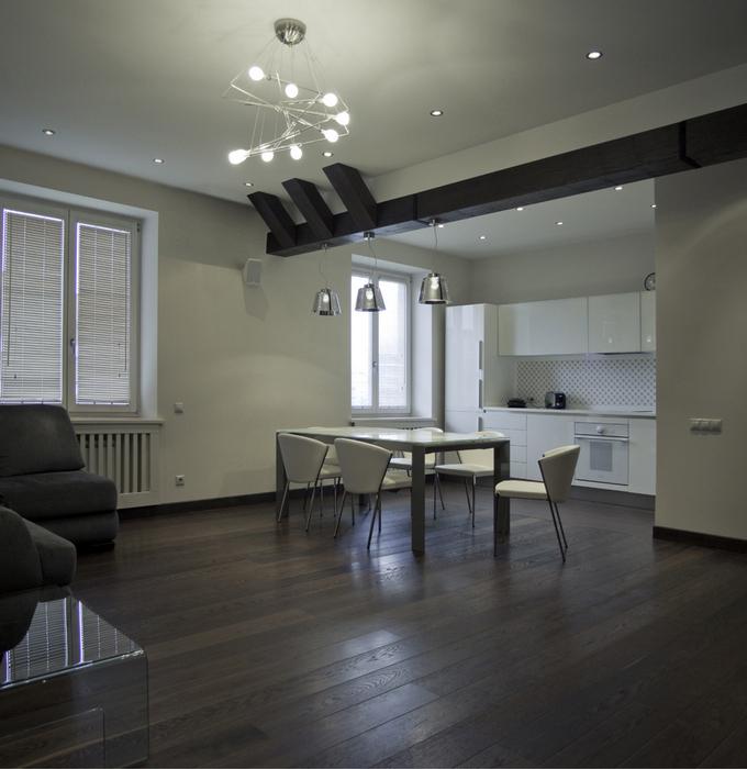 Квартира. кухня из проекта , фото №24337