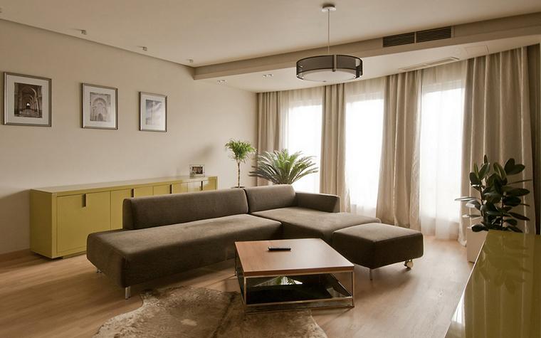 Квартира. гостиная из проекта , фото №24388