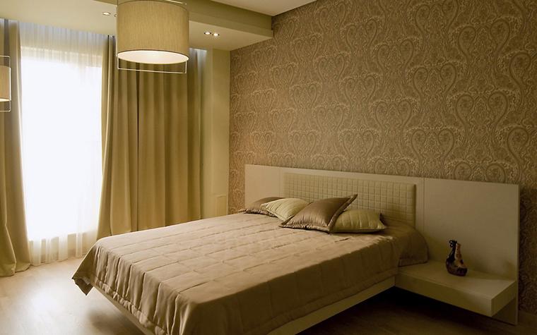 Квартира. спальня из проекта , фото №24392