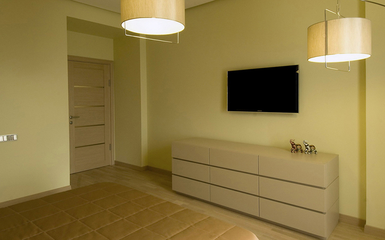 Квартира. спальня из проекта , фото №24393