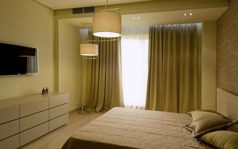 Квартира. спальня из проекта , фото №24394
