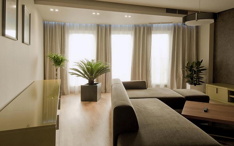 Квартира. гостиная из проекта , фото №24389