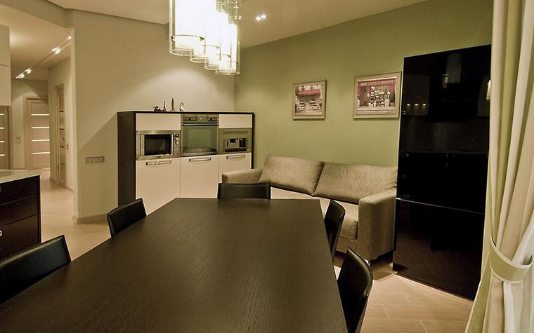 Квартира. кухня из проекта , фото №24405