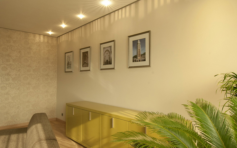 Квартира. гостиная из проекта , фото №24391