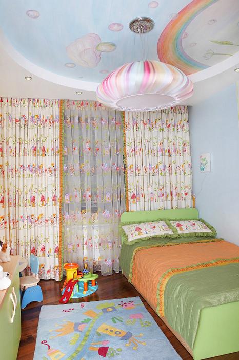 Квартира. детская из проекта , фото №24429