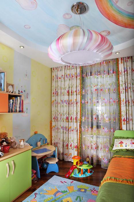 Квартира. детская из проекта , фото №24428