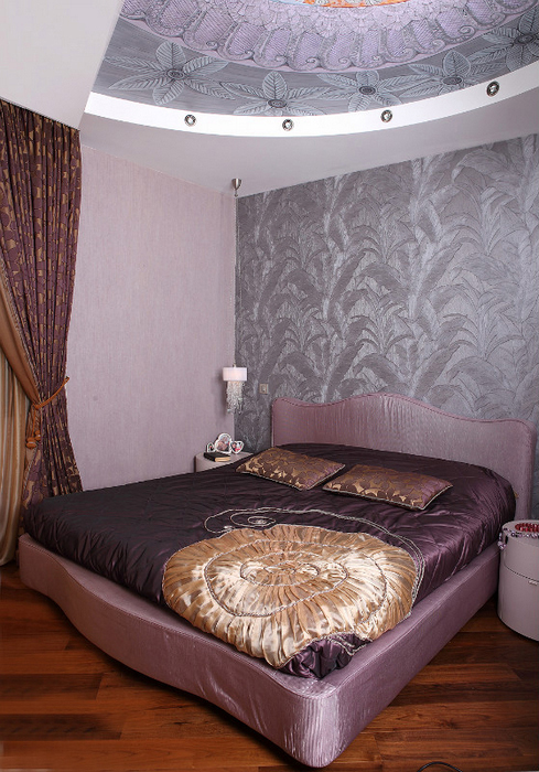 Квартира. спальня из проекта , фото №24432