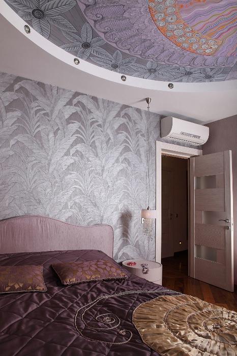 Квартира. спальня из проекта , фото №24433