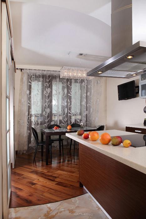 Квартира. кухня из проекта , фото №24423