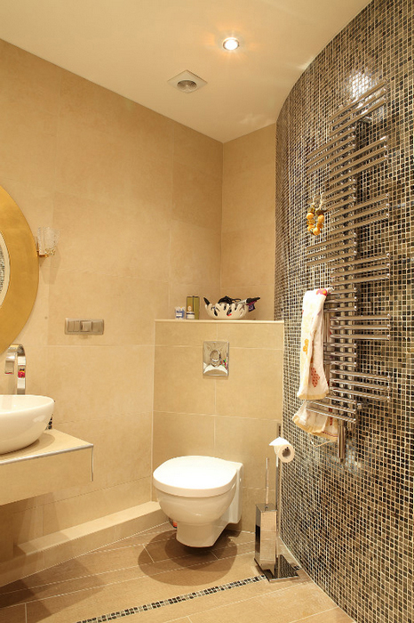 Квартира. ванная из проекта , фото №24435
