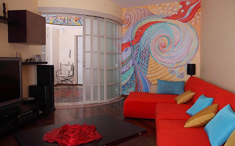 Квартира. гостиная из проекта , фото №24413