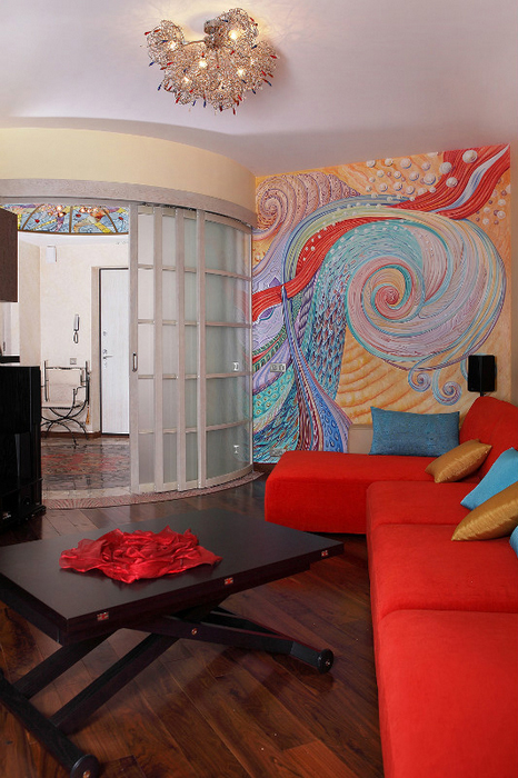 Квартира. гостиная из проекта , фото №24414