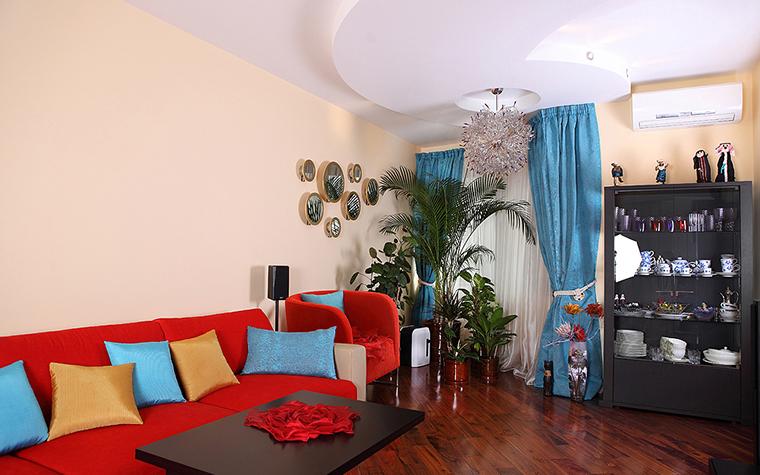 Квартира. гостиная из проекта , фото №24416