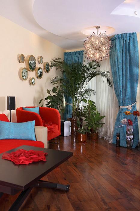 Квартира. гостиная из проекта , фото №24417