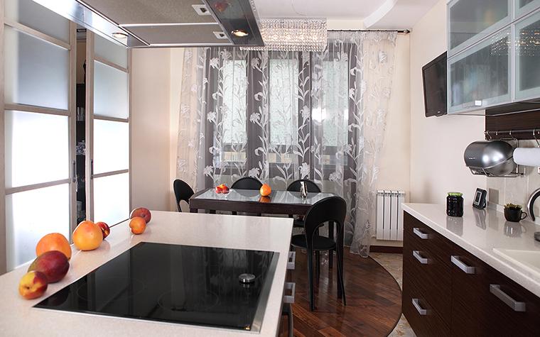 Квартира. кухня из проекта , фото №24424