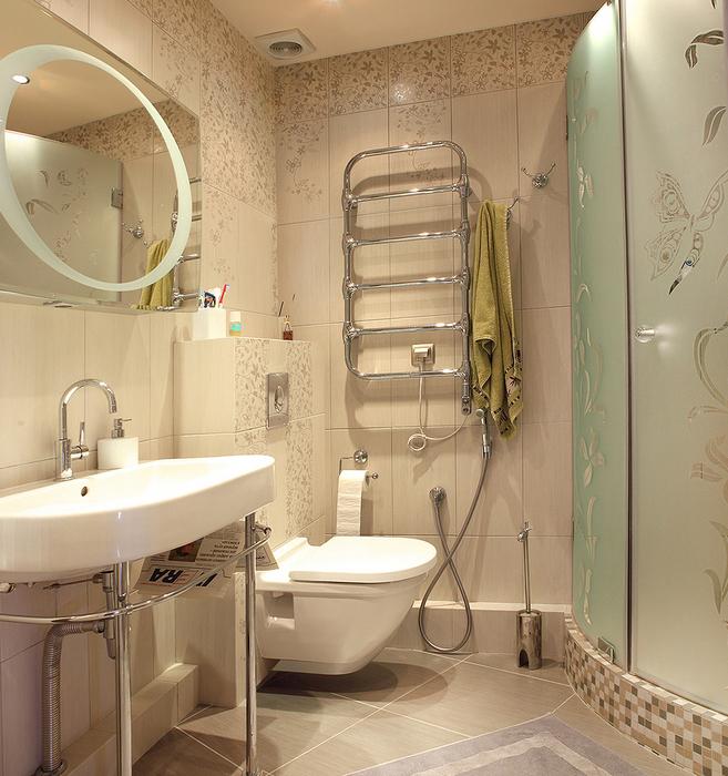 Квартира. ванная из проекта , фото №24437