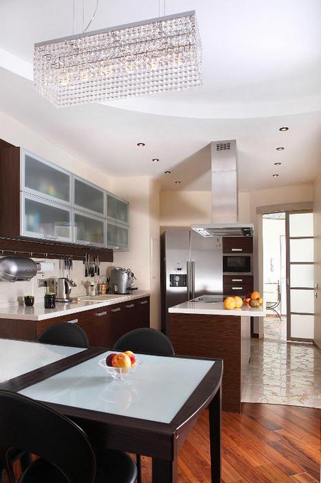 Квартира. кухня из проекта , фото №24425