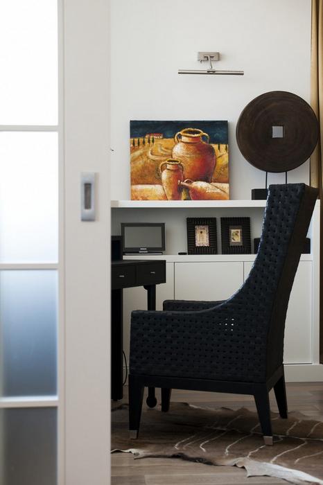 Квартира. кабинет из проекта , фото №24612
