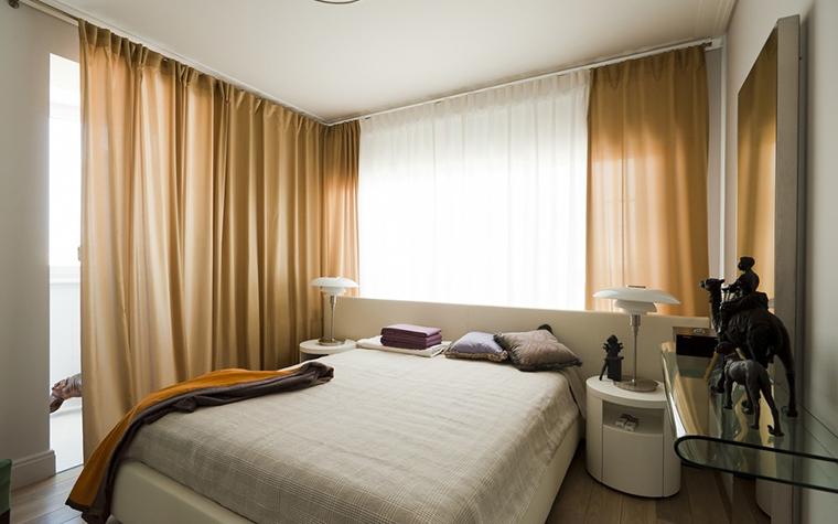 интерьер спальни - фото № 24616