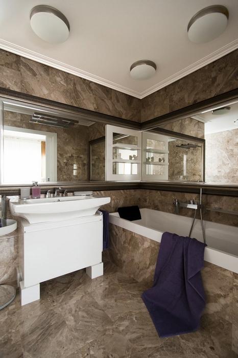 Квартира. ванная из проекта , фото №24632