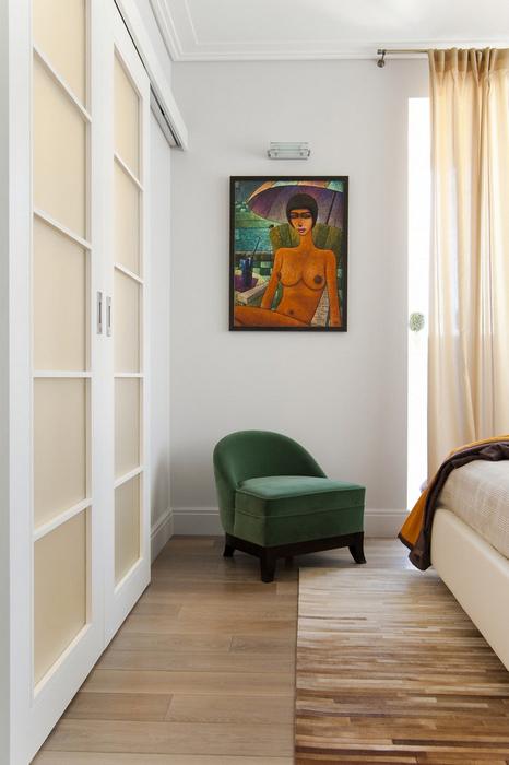 интерьер спальни - фото № 24635