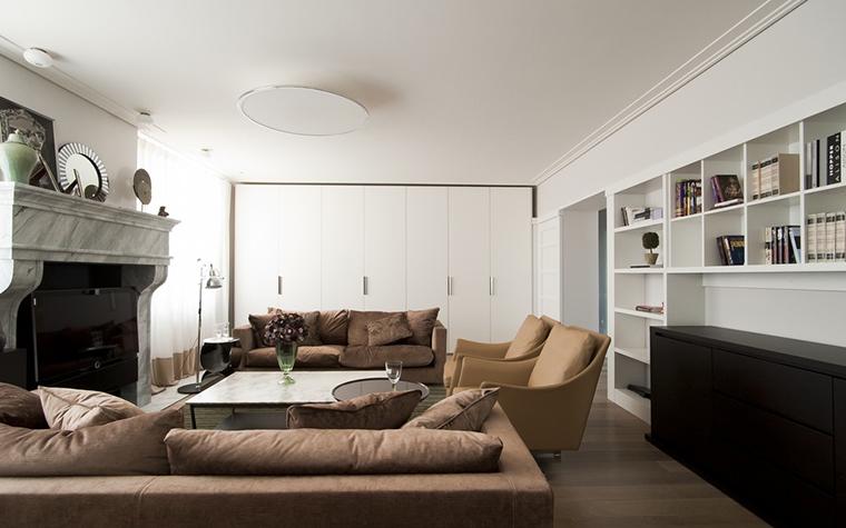 Квартира. гостиная из проекта , фото №24591