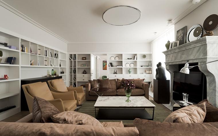 интерьер гостиной - фото № 24592