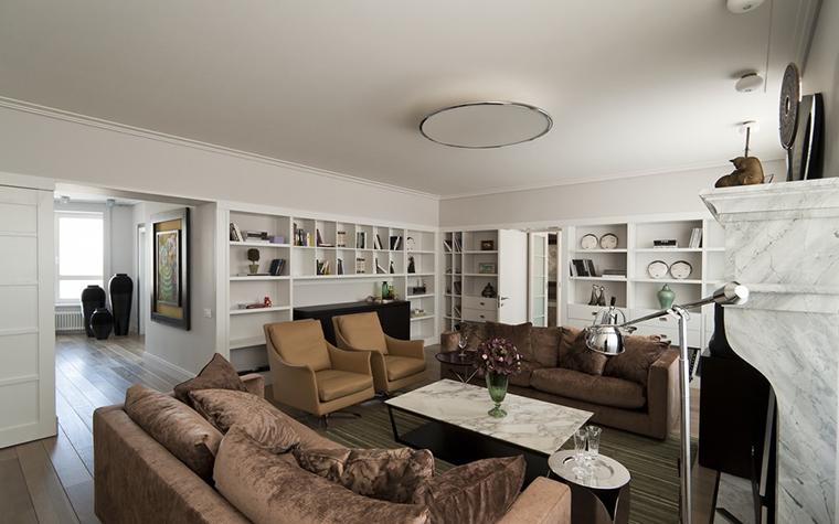 интерьер гостиной - фото № 24595