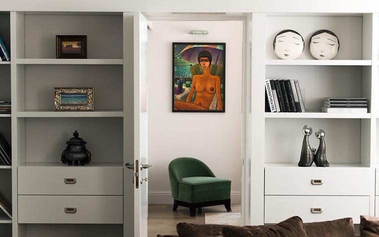 Квартира. гостиная из проекта , фото №24600