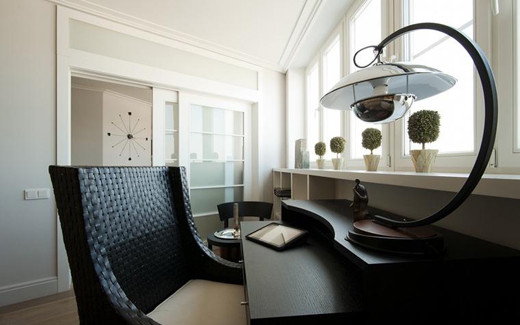Квартира. кабинет из проекта , фото №24603