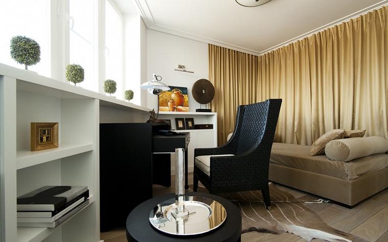 Квартира. кабинет из проекта , фото №24604