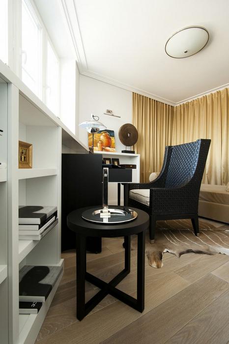 Квартира. кабинет из проекта , фото №24605