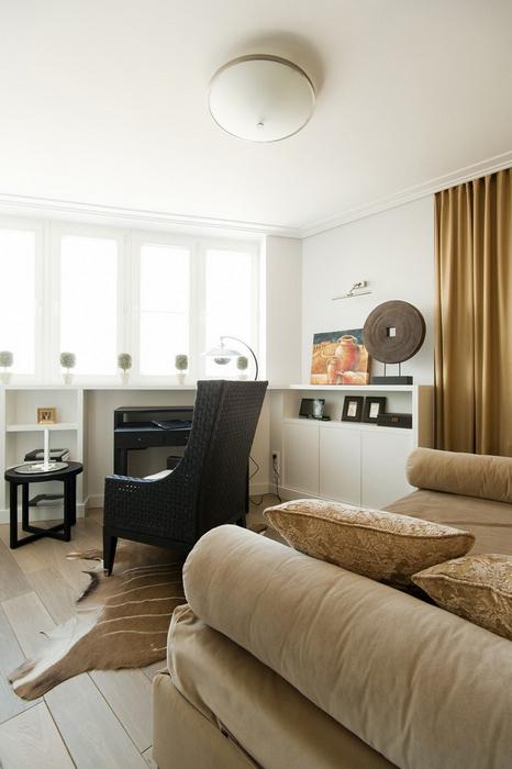 Квартира. кабинет из проекта , фото №24609