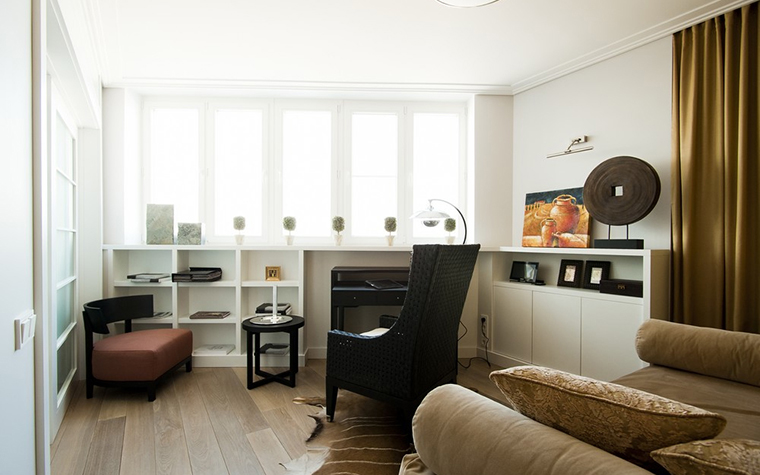Квартира. кабинет из проекта , фото №24610