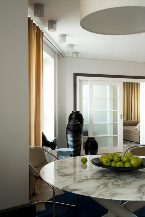 Квартира. кухня из проекта , фото №24620