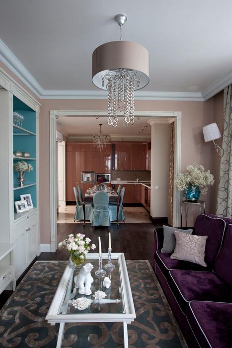 Фото № 24730 гостиная  Квартира