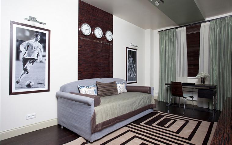 Квартира. кабинет из проекта , фото №24734